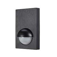 IP44 Panel Motion Sensor Black