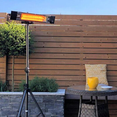 ATC Outdoor Heater ALH1800 In The Garden