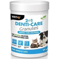 VETIQ 2 in 1 Denti-Care Granules 60g x 1