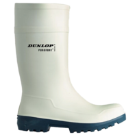 Dunlop C561141 White Purofort Wellington S4