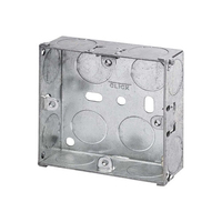 1 Gang 25mm Metal Socket Box