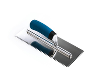 """1/4"""" V STAINLESS TROWEL (SOFTGRIP)"""