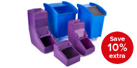 Save 10% on hygienic storage containers