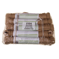 Jute Sash Cord No 4, 6mm, 10x10m Linked Hanks (WT397)
