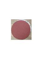 Bison Box Velour Back 6  120 Grit Sand Discs - SAN-DISC-120G