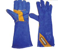 Blue Gold Welders Glove (Pair)
