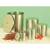 Dressing Container 2L & Lid, S/Steel, 125 X 1
