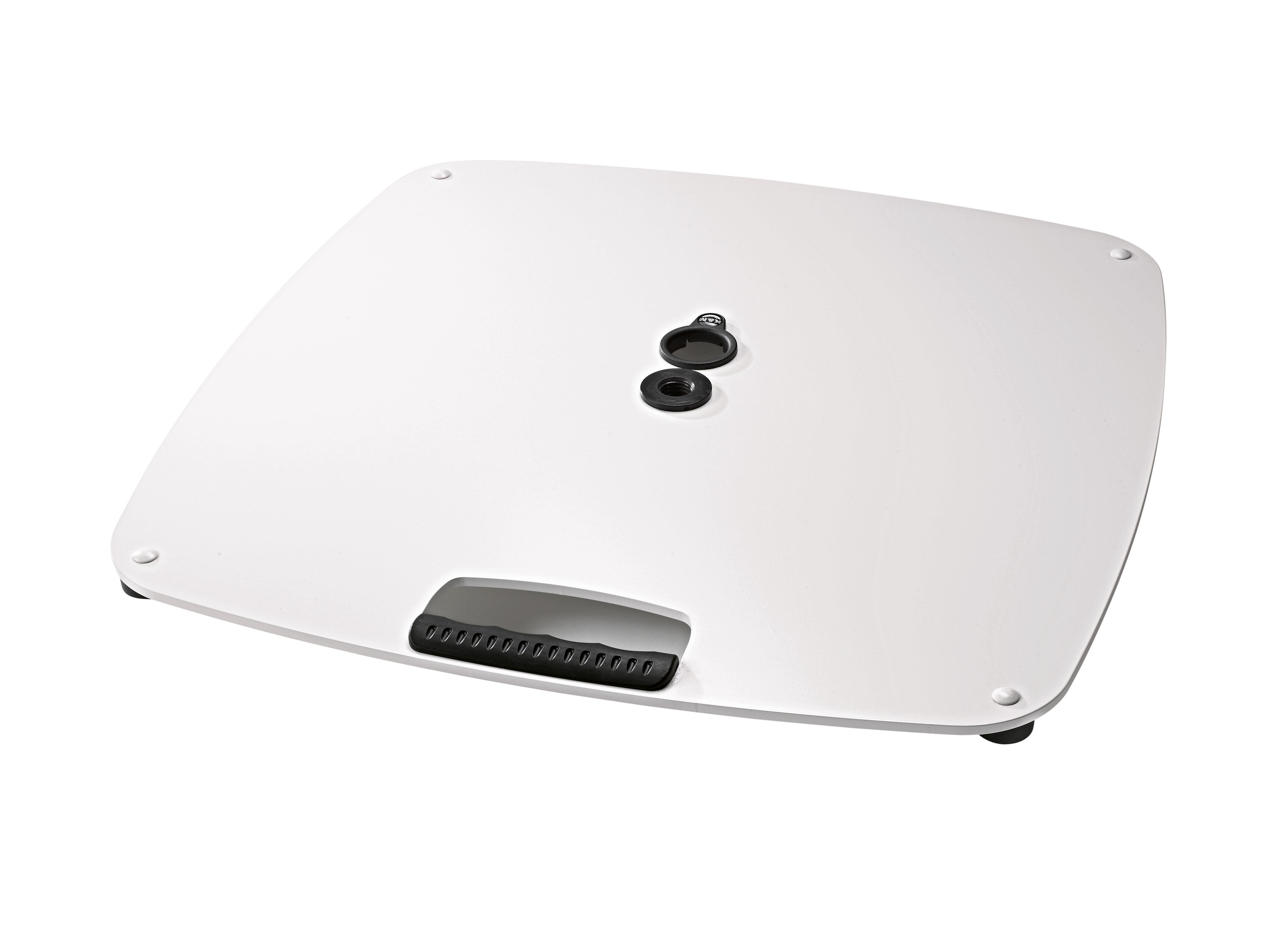 K&M 26705 | White Base plate