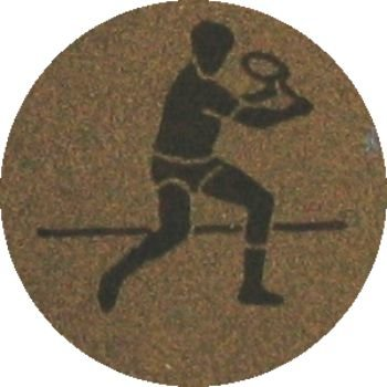 Tennnis (25mm Gold Centre)