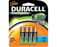 DURACELL RECHARGE AAAPK.4 (750MA)