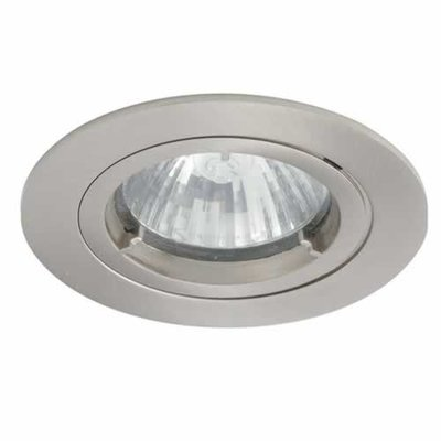 Satin Chrome IP44 Twist-Lock Bathroom Downlight | LV1002.0031