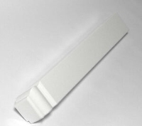 PVC FASCIA ANGLE 300MM EXTERNAL CORNER DOUBLE WILL DO TWO CORNERS