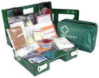 1-5 Industrial First Aid Kit Wall Mount