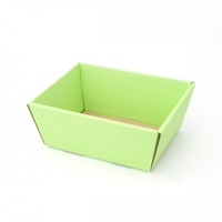 TRAY MED.335x195x100mm APPLE GREEN