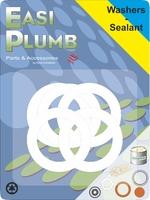 "Easi Plumb 5 Pce 1/2"" PVC Washers"