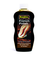 RUSTINS BROWN FRENCH POLISH 300ML