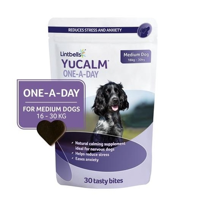 Lintbells YuCALM Chewies  One-a-Day Medium 30-Chew x 1