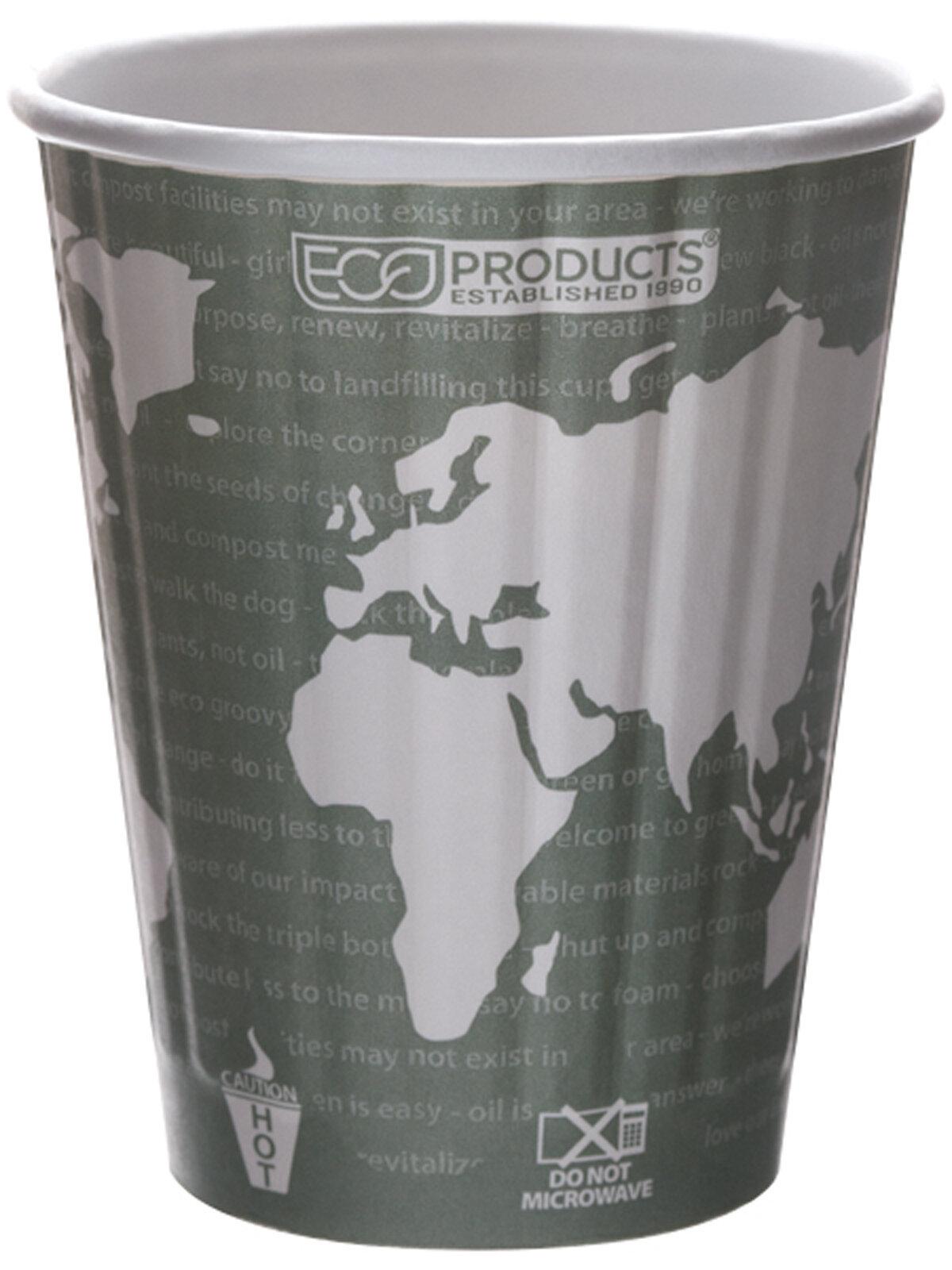 Biodregradable D/W Cup & Lid 355ml  (Box of 800)