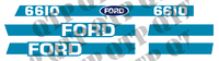 Decal Kit Ford 6610