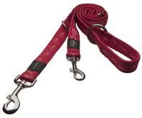Rogz Alpinist Red XL (Everest) Multi Purpose Lead 1.6m x 25mm x 1