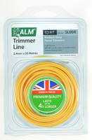 ALM Round Trimmer Line (20m X 2.4mm) For Medium Weight Petrol Trimmers - SL004