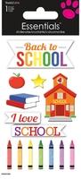 Back to School  Essential Craft Sticker.