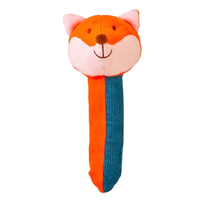 Lovely little fox Squeakaboo toy for babies