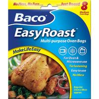 Baco EasyRoast Multi-Purpose Oven Bags 8 Standard