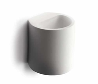 Round Gypsum Wall Light G9 40w    LV1202.0095