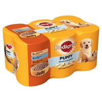 Pedigree Cans Puppy 400g 6 pack x 4