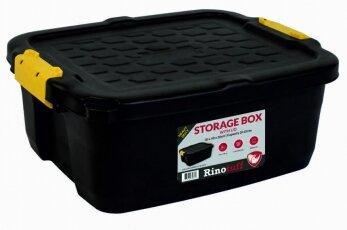 RHINOTUFF 24LTR STORAGE BOX WITH LID