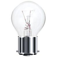 TOUGH LAMP - GOLF BALL 45MM   240/50V 25WATT BC/B22 CLEAR
