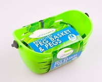 EcoForce Recycled Peg Basket  24 Pegs (CDU)