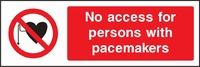 Prohibition and Access Sign PROH0016-1191