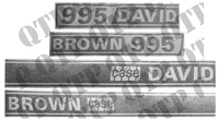 Decal Kit - David Brown 995