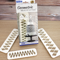GMC134 GEOMETRIC MULTICUTTER- DIAMOND, SET/3