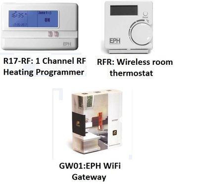 EPH EMBER PACK 1 C/W R17-RF & 1 RFR & 1 GW01