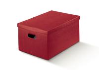 BOX GIFT & LID 500X340X250MM BURGUNDY