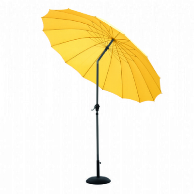 Shanghai 2.7m Parasol in Yellow