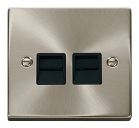 Twin UK Telephone Socket - Master