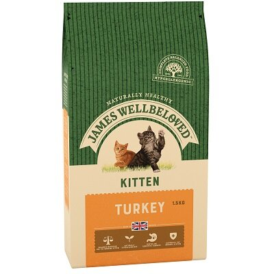James Wellbeloved Kitten Turkey 1.5kg
