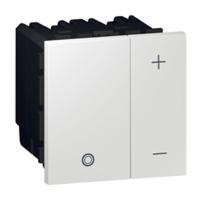 Arteor Eco Universal Dimmer Square - White  | LV0501.0085