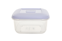 WHITEFURZE 0.6 LTR FOOD STORAGE BOX WITH LID WHITE