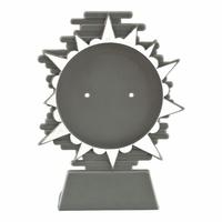140mm Plastic Blaze Disc Holder (Silver)
