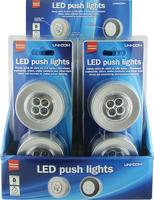 Twin Pack Push Lights 6xAAA - 63452