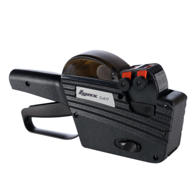 LYNX C-A17 Two-Line Price Gun with 10+7 Alphanumeric Bands
