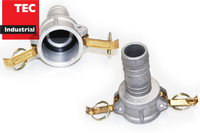 Camlock Part C Stainless Steel