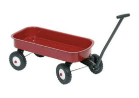 Red Pull-along Waggon