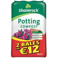 Shamrock Potting Compost 75 Litre