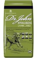 Dr John Hypoallergenic Dog Food - Lamb 15kg [Zero VAT]